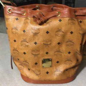 Authentic MCM large handbag